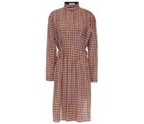 Gingham Seersucker Dress
