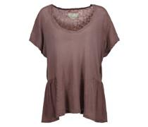 The Girlie Linen And Cotton-blend T-shirt