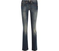 Rozie Mid-rise Slim-leg Jeans Dunkler Denim