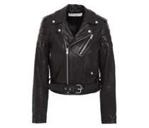 Galley Leather Biker Jacket