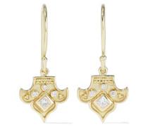 Heritage Fleur 18-karat  Diamond Earrings