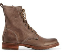Veronica Combat leather boots