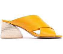 Woman Lenilow Leather Mules Marigold