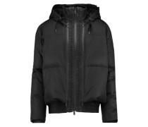 Shell hooded coat