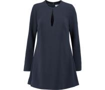 Brianna crepe mini dress
