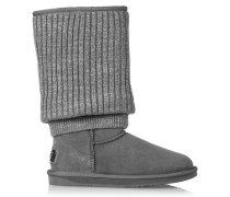 Fame Tall Shearling Boots Anthrazit