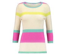 Striped Cashmere Sweater Mehrfarbig