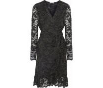 Flynn lace wrap dress