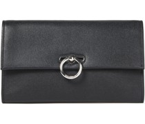 Jean Pebbled-leather Clutch