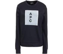 Sweatshirt aus Baumwollfrottee mit Print
