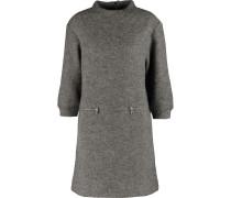 Zippy Metallic Wool-blend Mini Dress Anthrazit