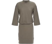 Slub Stretch-cotton Jersey Mini Dress