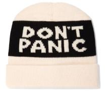 Don't Panic Merino Wool Beanie Creme