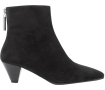 Pyramid Suede Ankle Boots