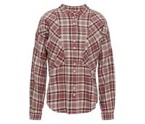 The Bixa Kariertes Hemd aus Baumwolle