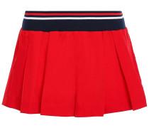 Pleated Shell Shorts