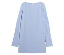 Lavarone gingham cotton mini dress