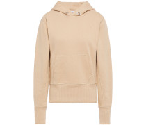 Woman French Cotton-terry Hoodie Sand