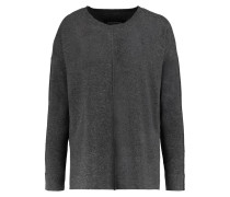 Delcline Wool And Cashmere-blend Sweater Dunkelgrau