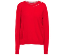 Embroide Cashmere Sweater