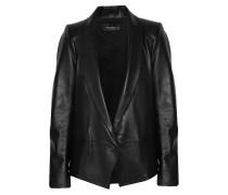 Bale Leather Jacket Schwarz