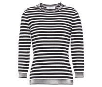 Striped Cotton And Cashmere-blend Top