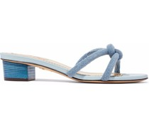 Knotted Terry Mules