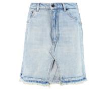 Pleated Denim Mini Skirt Heller Denim