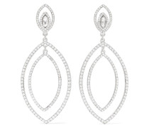 -tone Crystal Earrings