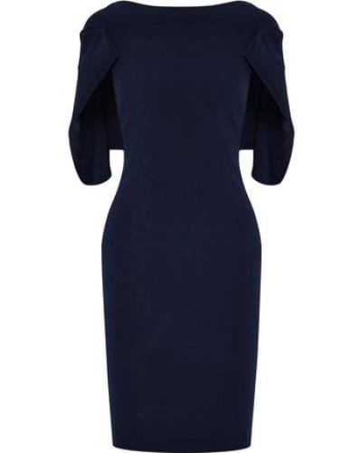 Faille Dress Navy Size 0