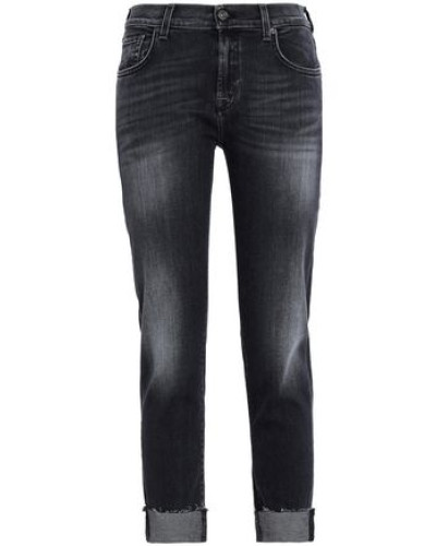 Slim Leg Jeans Black  4