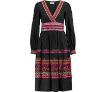 Amity embroidered cotton midi dress
