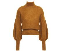 Mohair-blend Turtleneck Sweater