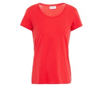 Emilie Stretch-tencel And Cotton-blend Jersey T-shirt