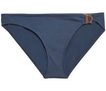 Edge Sharp Buckle-detailed Low-rise Bikini Briefs