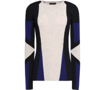 Whitemore color-block wool sweater