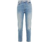 Originals High-rise Ankle Crop Skinny Jeans