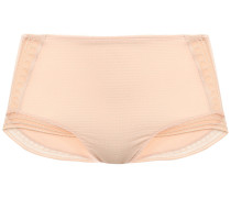 Paroles Chut Leavers Lace-trimmed Embossed Jersey High-rise Briefs