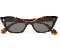 Bianka Cat-eye Acetate Sunglasses