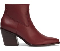 Razor Leather Ankle Boots