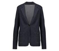 Cotton and cashmere-blend blazer