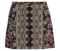 Cotton-blend Tapestry Mini Skirt Mehrfarbig