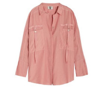Danvers cotton and silk-blend shirt