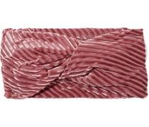 Malia Haarband aus Devoré-samt mit Twist-detail