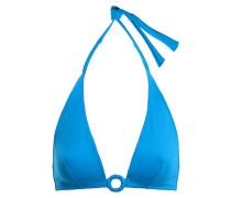Studio Compact Ring-embellished Halterneck Bikini Top