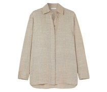 Big Sisea Oversized Wool And Silk-blend Blouse