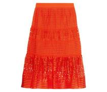 Tiana guipure lace skirt