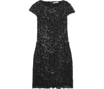 Penni macramé lace mini dress
