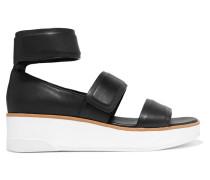 Leather Sandals Schwarz