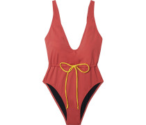 The Michelle Bow-detailed Swimsuit